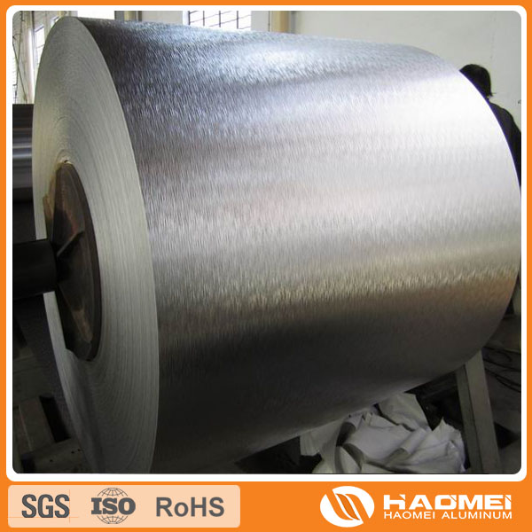pe coating aluminum coil for refrigeration material